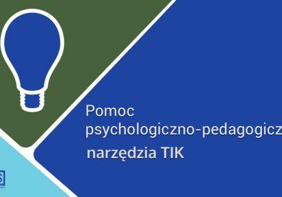 Pomoc psychologiczno-pedagogiczna z wykorzystaniem narzędzi TIK